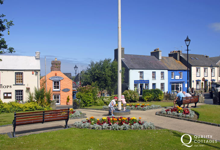 St Davids Cross Square is the heart of Britain's smallest city