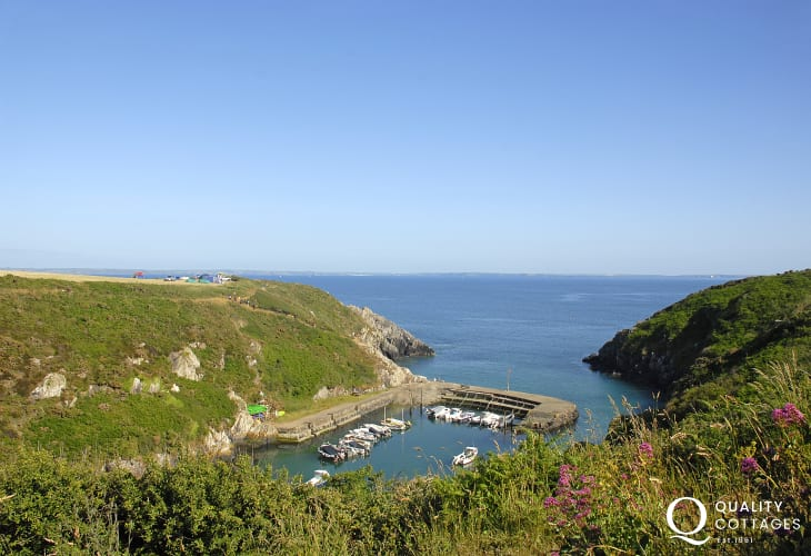 Enjoy the Pembrokeshire Coast Path Porthclais is a lovely walk from The Nest