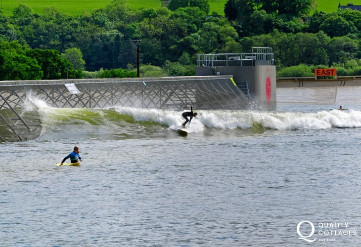 Surf Snowdonia is a fantastic attraction in North Wales