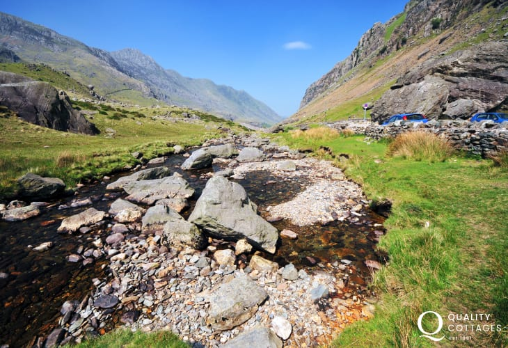The beauty of Snowdonia and the national park