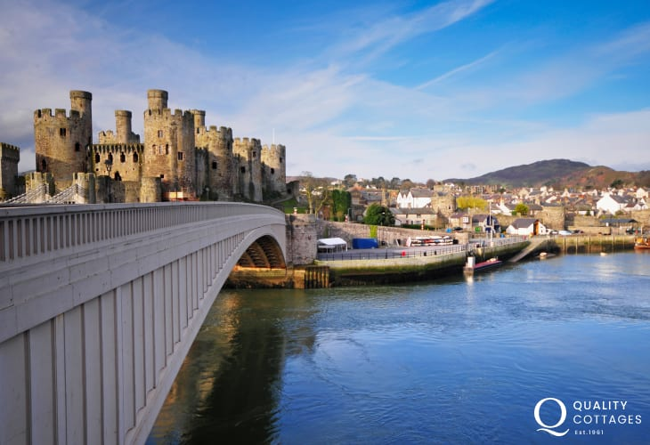 The North Wales area of Conwy