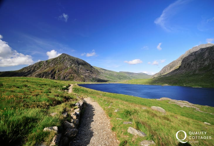 Cwm Idwal is a cirque in the Glyderau range of mountains in northern Snowdonia