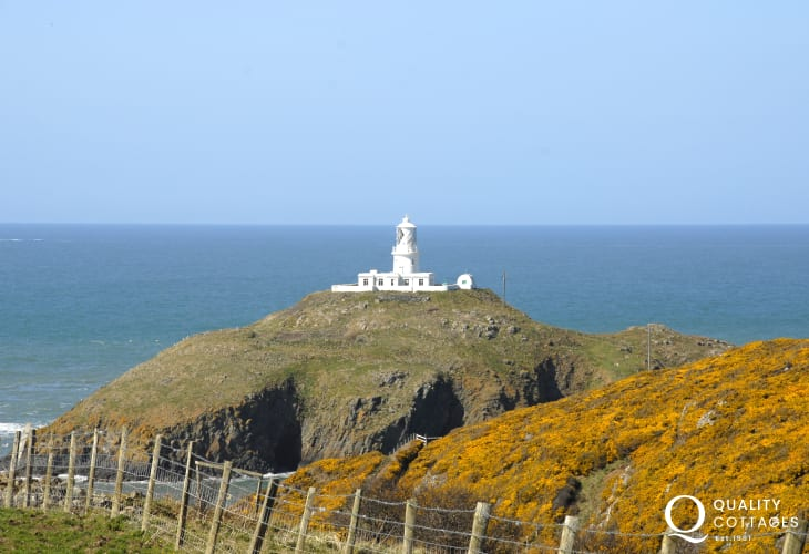 Strumble Head and lighthouse