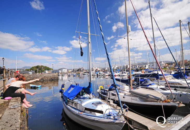 Porthmadog is just a short drive away and perfect for a day out