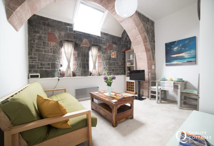 Criccieth cottage north wales - lounge