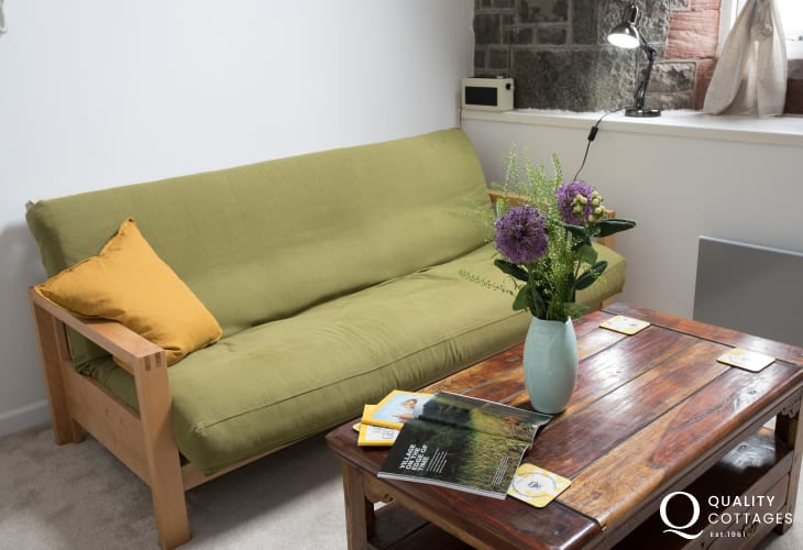 Criccieth apartment North Wales - lounge