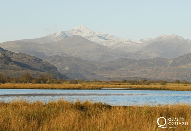 Snowdonia is an easy drive away