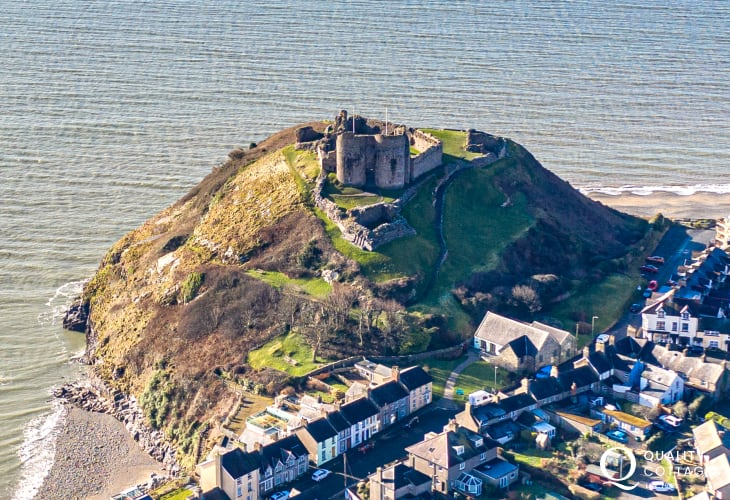 Criccieth castle walking distance from Arches