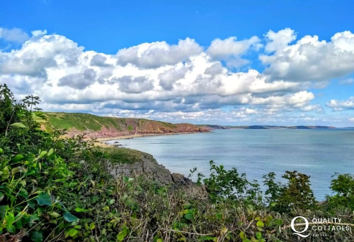 The beautiful Barafundle Bay