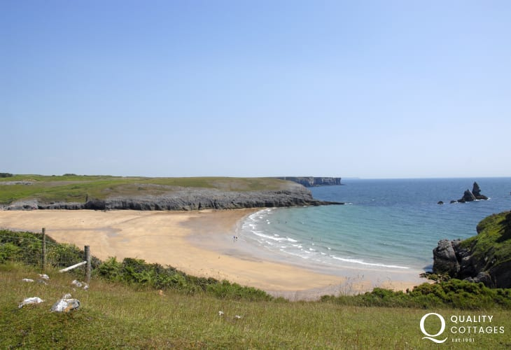 Broad Haven South is one of Pembrokeshire's finest beaches
