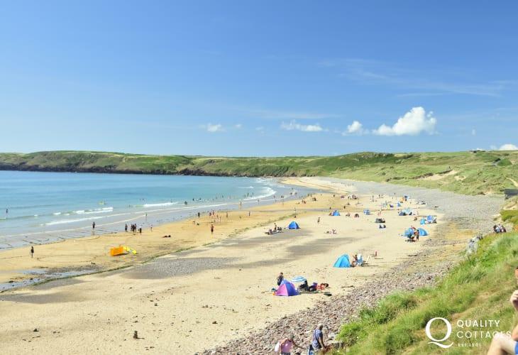 Freshwater West, stunning Pembrokeshire Beach