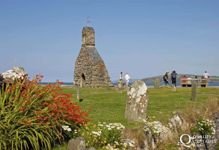 Cwm yr Eglwys and the 12th century check of St Brynach