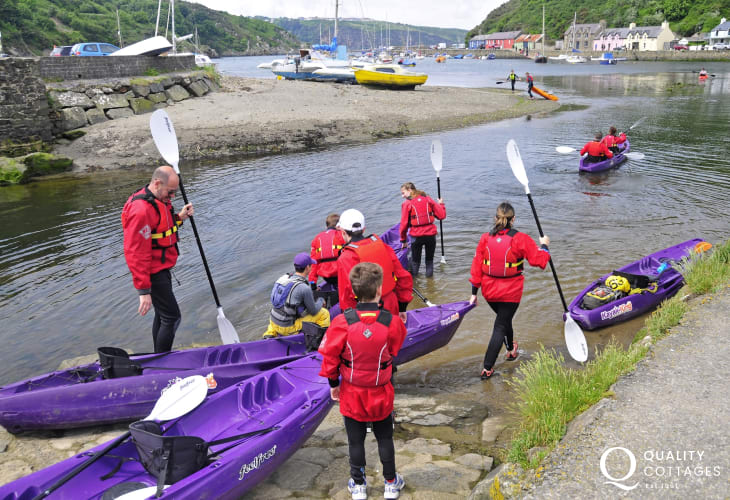 'Kayak King' offer kayaking for all ages and ability from Fishguard