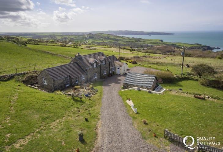 Fishguard holiday cottage - exterior