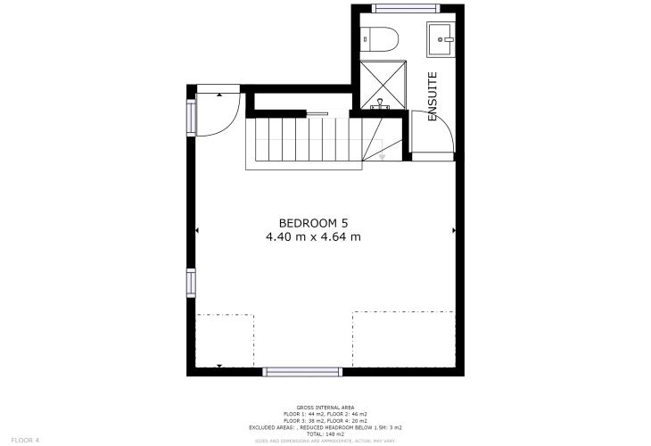 Floor Plan of Third Floor