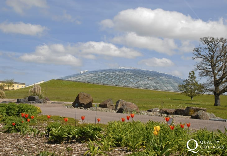 National Botanic Garden of Wales in Carmarthenshire