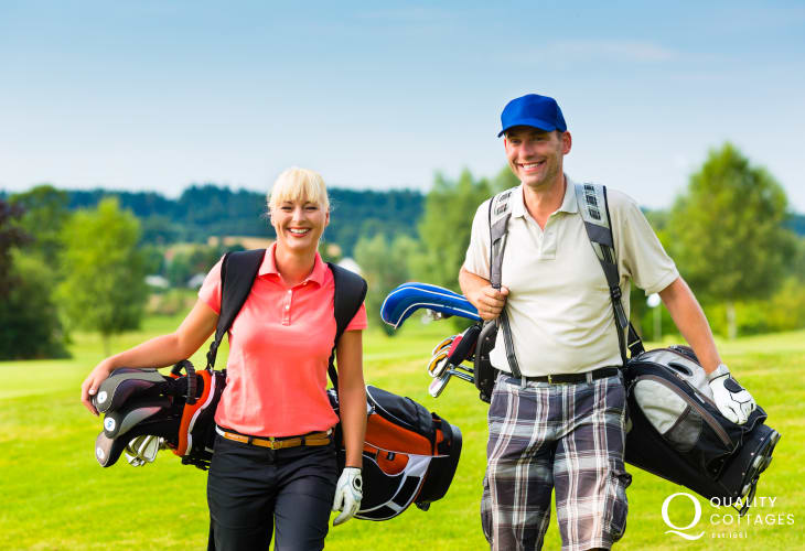 Pembrokeshire has a choice of excellent golf courses to choose from - Newport is a short drive away