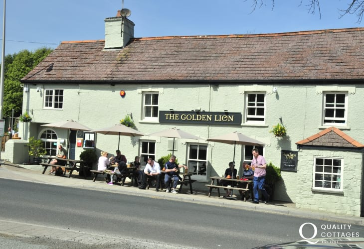 Golden Lion, Newport - pet friendly traditional pub serving real ales, fresh fish and delicious homemade puddings