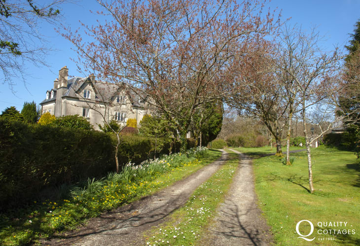 Family and Dog Friendly Gwaun Valley Manor House To Rent near Newport