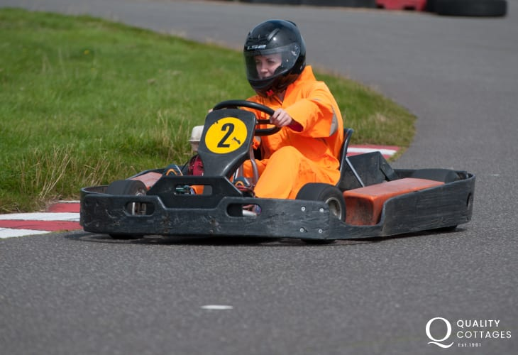 Dr Beynon's Bug Farm, Heatherton and  West wales Karting are just some of the family attractions within an easy drive