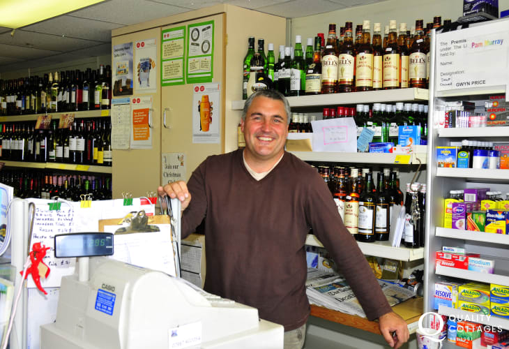 Bay View Stores for papers, fresh bread and the delicious homemade meals are well worth a try