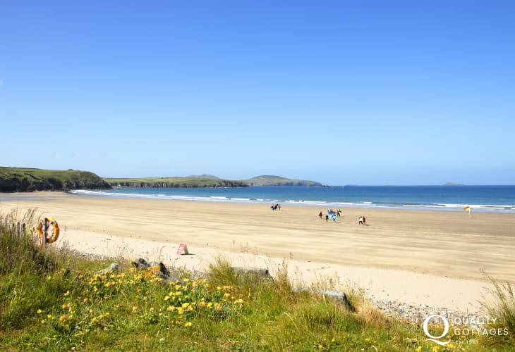 Whitesands Beach (Blue Flag) - one of the finest in the country and popular with  water sport enthusiasts