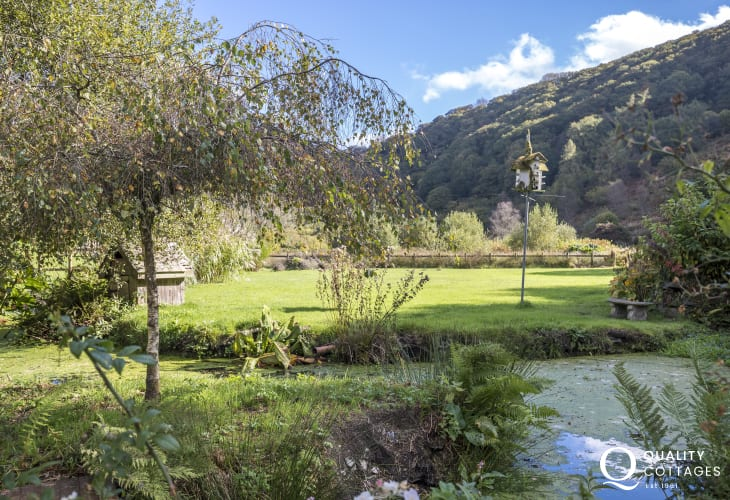 Cottage gardens in the Gwaun Valley