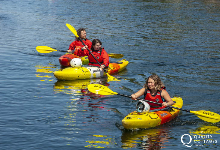 Try kayaking, surfing, sailing, kite boarding - all popular water sport activities are available in the area