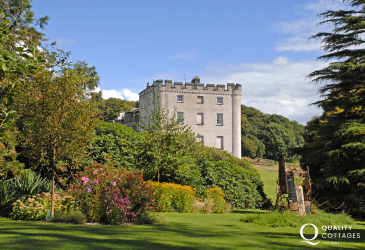 Picton Castle and Gardens - enjoy guided tours of this beautiful 13th century castle which spans nearly 800 years of history