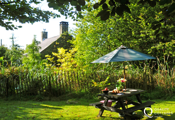 Holiday cottages Snowdonia-garden