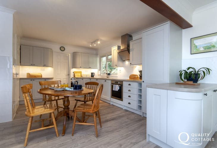 Coastal holiday home Aberporth - modern kitchen