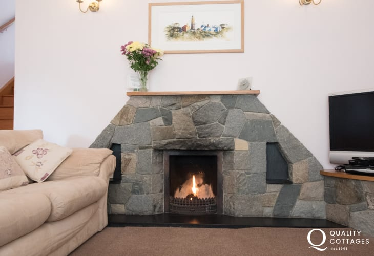 Black rock sands holiday cottage - lounge
