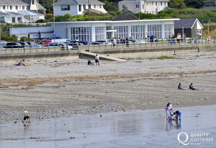 Criccieth offers a variety of excellent places to eat