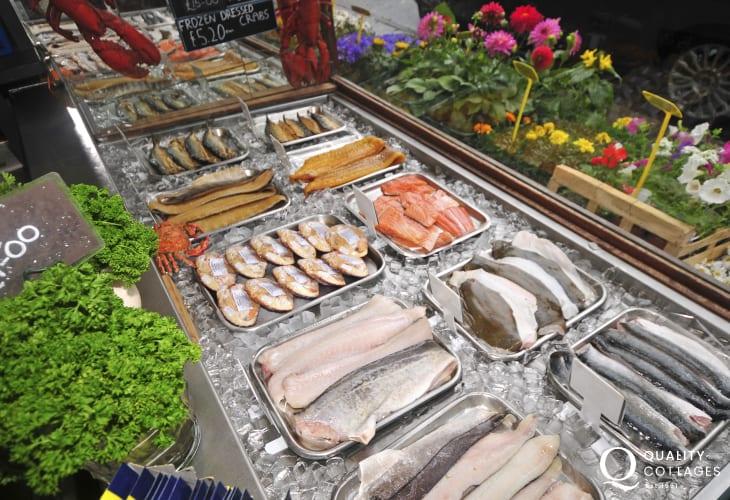 Fresh Fish in Criccieth