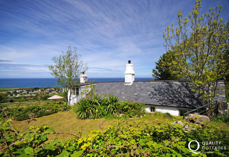 Welsh Seaside cottage - exterior