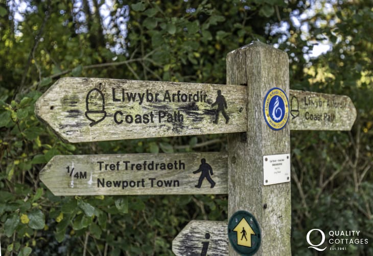 Pembrokeshire National Coast Park great for walkers
