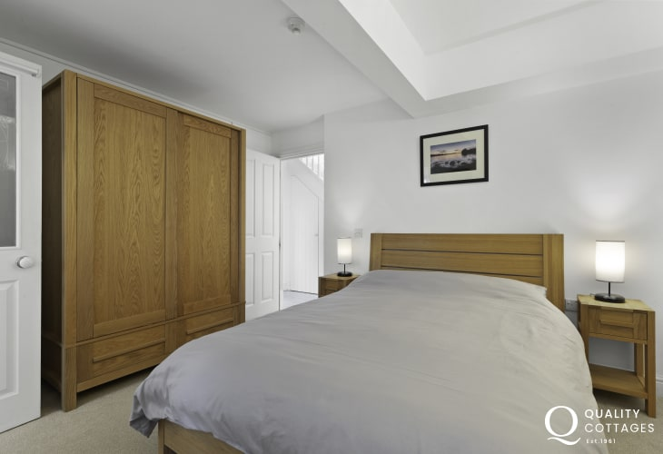 Double bedroom at Awen Ingli in Newport