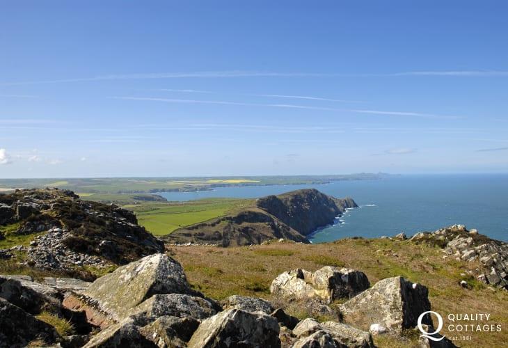Enjoy Strumble Head for fabulous coastal walking