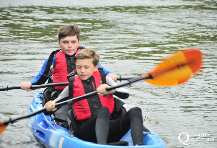 TYF Adventure and Preseli Ventures both offer a wide range of activities - including kayaking
