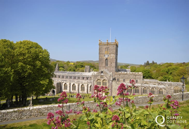 Magnificent St Davids Cathedral lies in the heart of Britains' smallest city