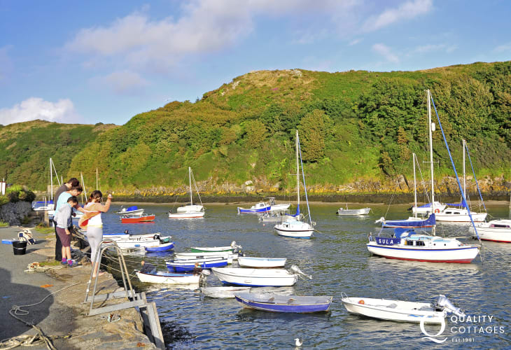 Solva - a pretty harbour village ideal for boating activities