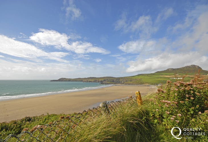 Whitesands (Blue Flag) - one of the finest beaches in Wales - popular with families and water sports enthusiasts