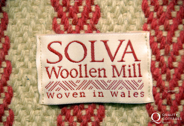 Do visit Solva Woollen Mill - open all the year round with beautiful wollen products for sale
