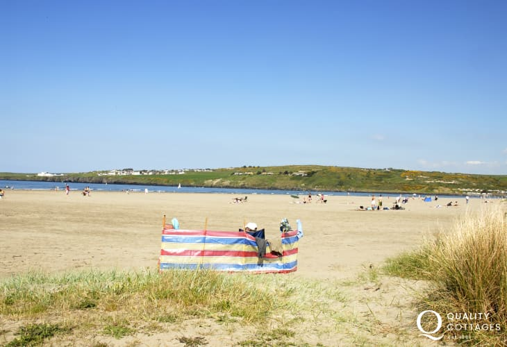 Poppit - a beautiful sandy beach and leads onto the Pembrokeshire Coast Path