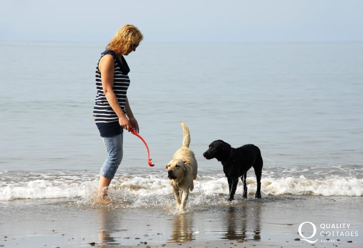 Enjoying holiday time together - most Quality Cottages welcome pets