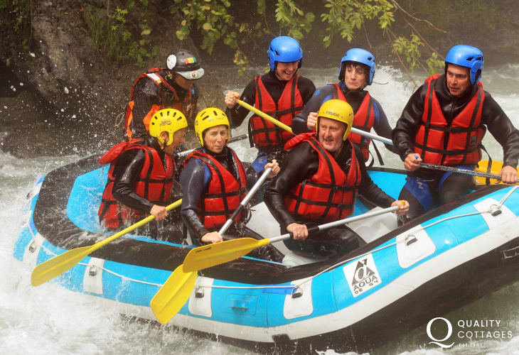 Try White Water rafting with Cardigan Bay Active