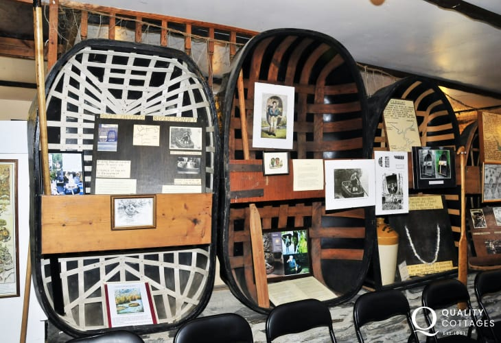 The National Coracle Centre and Museum in Cenarth