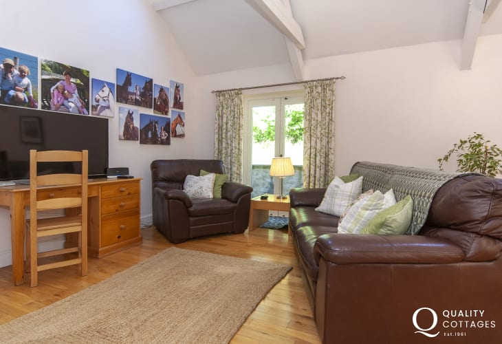 Pembrokeshire holiday cottage - study area