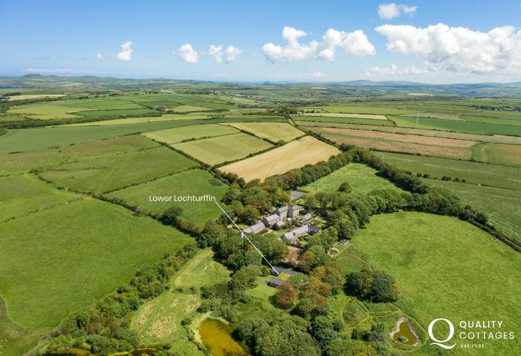 Pembrokeshire holiday cottage location