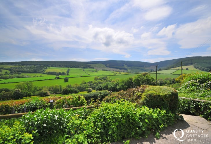 Presteigne holiday cottage - view